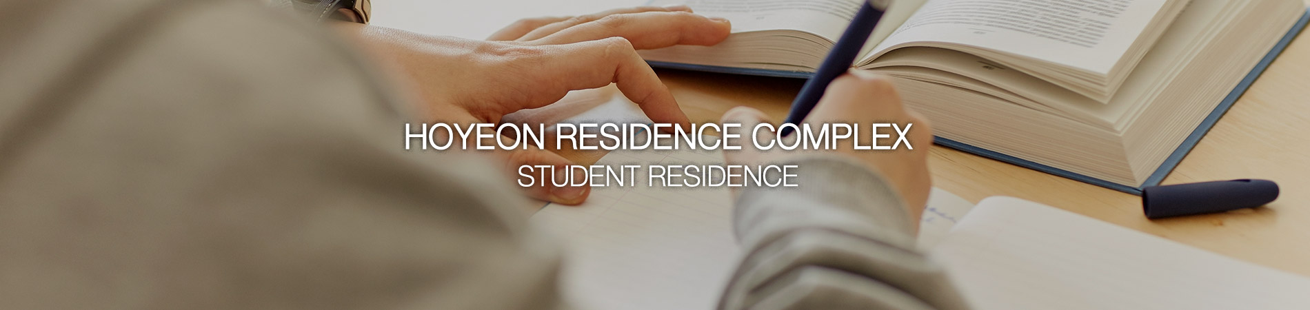 HOYEON RESIDENCE COMPLEX STUDENT RESIDENCE